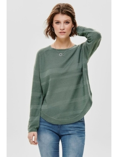 onlcaviar l/s pullover knt noos 15141866 only trui chinois green