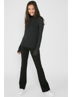 pckila ls turtleneck knit dc 17093407 pieces trui black