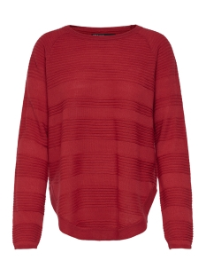 Only Trui onlCAVIAR L/S PULLOVER KNT NOOS 15141866 High Risk Red