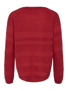 onlcaviar l/s pullover knt noos 15141866 only trui high risk red
