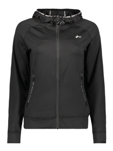 Only Play Sport vest onpRENEA HOOD ZIP SWEAT 15143963 Black