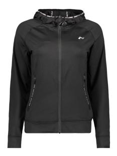 Only Play Sport vest onpRENEA HOOD ZIP SWEAT 15143963 Black