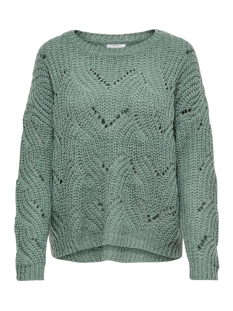 Only Trui onlHAVANA L/S PULLOVER KNT NOOS 15155846 Chinois Green
