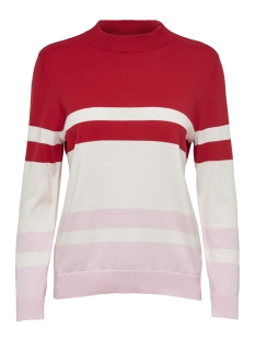 Only Trui onlROSEMARIE L/S PULLOVER KNT 15168922 Goji Berry/W.CLOUD D