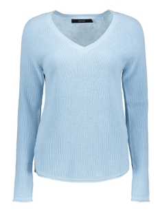 Vero Moda Trui VMLEX SUN LS V-NECK BLOUSE COLOR 10197122 Cool Blue