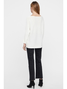 vmnora 3/4 boatneck blouse color 10213020 vero moda trui snow white