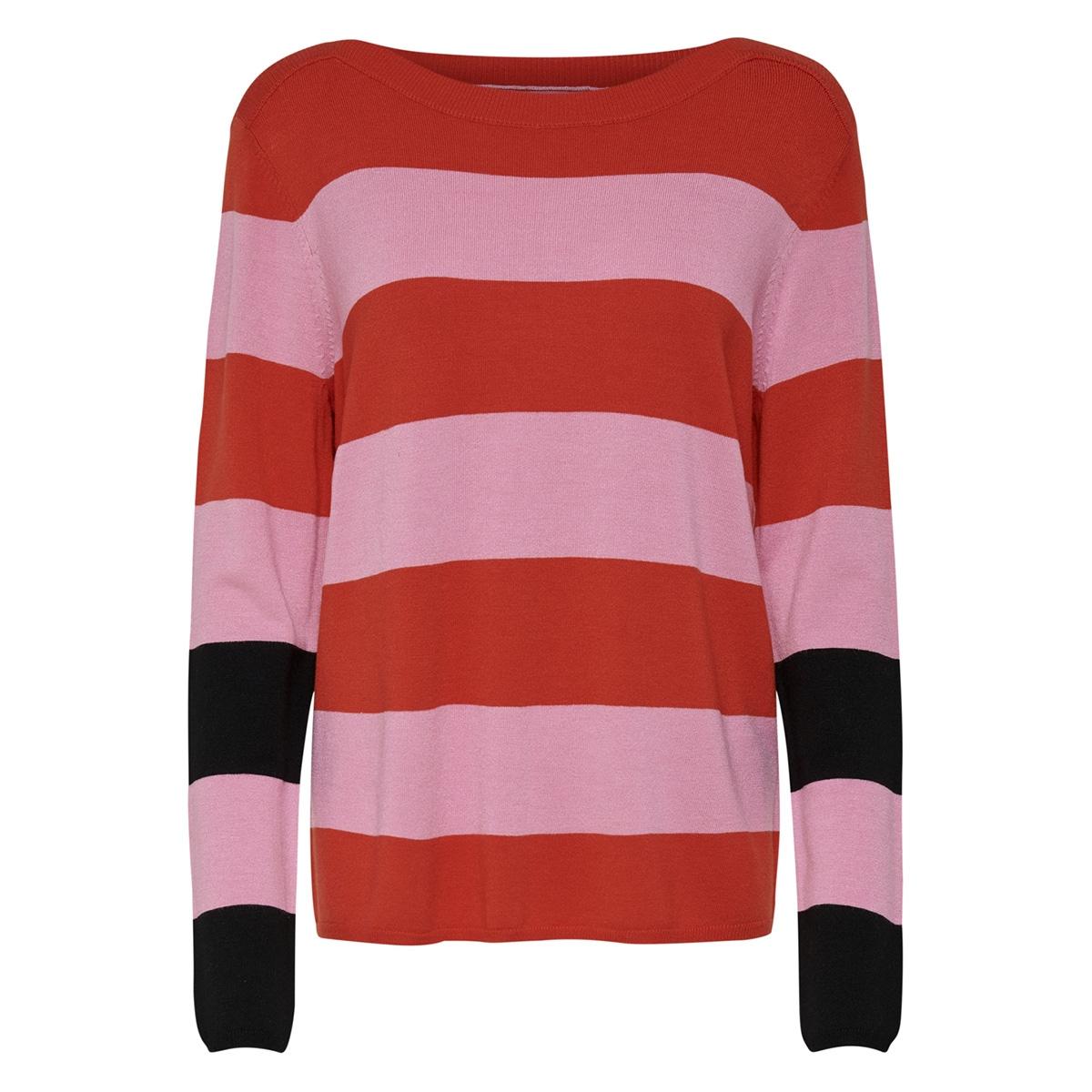 jdymax l/s pullover knt 15168553 jacqueline de yong trui rosebloom/fiery red