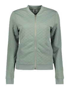 Only Vest onlJOYCE LS BOMBER NOOS 15131550 Chinois Green
