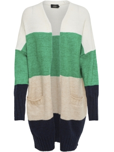 Only Vest onlJOSIE L/S CARDIGAN WOOL KNT 15168886 Cloud Dancer/W. SIMPLY
