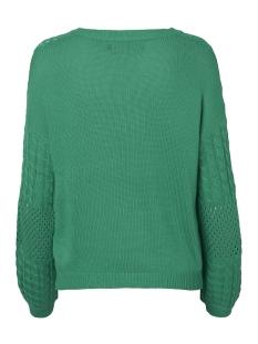 vmpauline ls v-neck blouse 10209918 vero moda trui holly green
