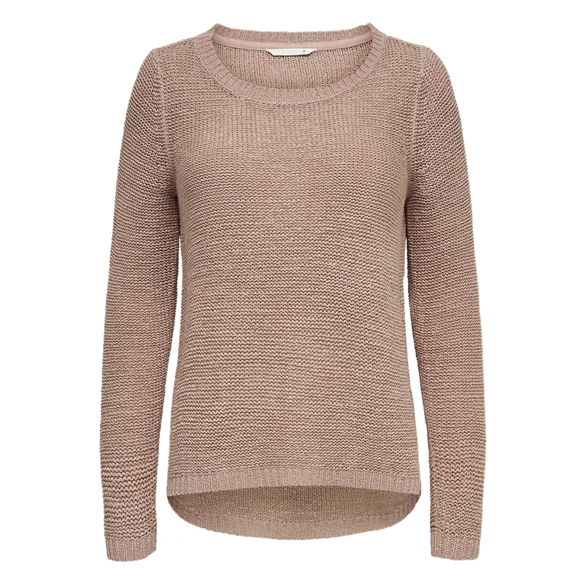 onlgeena xo l/s pullover knt noos 15113356 only trui misty rose