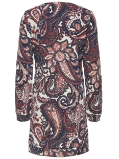 onlanemone ls dress print box swt 15172968 only jurk peyote/paisley