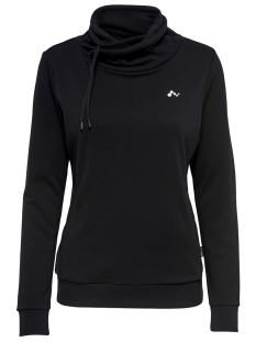 Only Play Sport trui onpMAYA HIGH NECK SWEAT - OPUS 15167489 Black