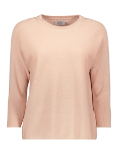 Only Trui onlREGITZE 3/4 PULLOVER KNT NOOS 15157863 Rose Smoke