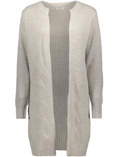 jdyteri l/s cardigan knt 15171953 jacqueline de yong vest light grey melange