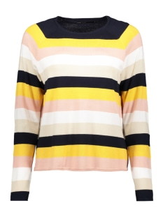 Only Trui onlTERESA L/S PULLOVER KNT 15170602 Night Sky/ YOLK YELLOW