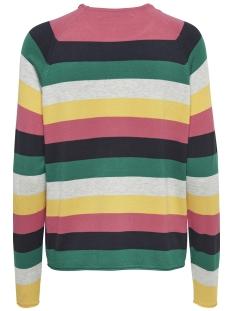 onlteresa l/s pullover knt 15170602 only trui geranium/ night sky