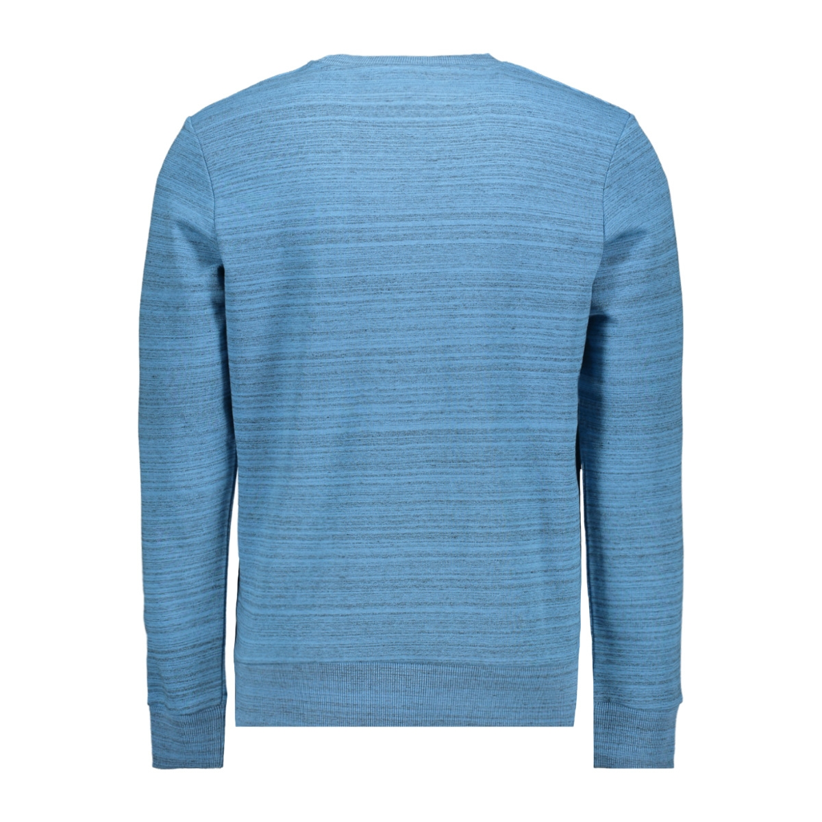 jcopainted sweat crew neck 12153964 jack & jones sweater azure blue/w. black