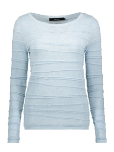 Vero Moda T-shirt VMMONTANA LS BLOUSE REP2 10211141 Cool Blue