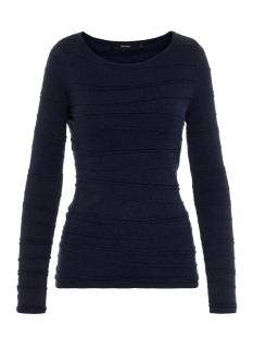 Vero Moda T-shirt VMMONTANA LS BLOUSE REP2 10211141 Night Sky