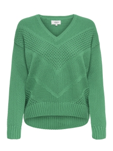 onlbertha l/s pullover knt 15170595 only trui simply green
