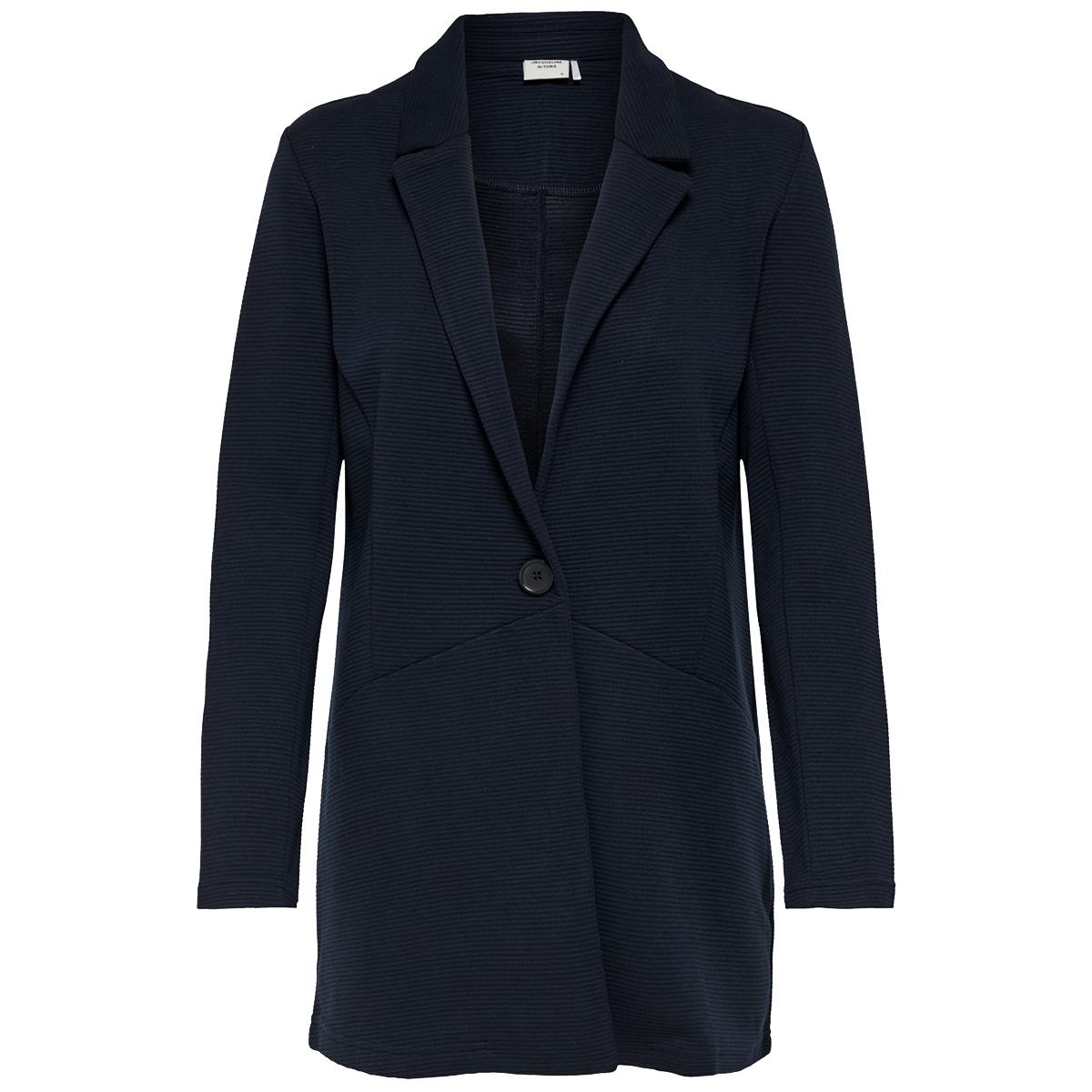jdyfrilla l/s open jacket jrs 15173885 jacqueline de yong jas sky captain