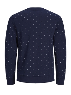 jcoand sweat crew neck 12154291 jack & jones sweater maritime blue