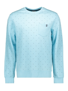 Jack & Jones sweater JCOAND SWEAT CREW NECK 12154291 Gulf Stream