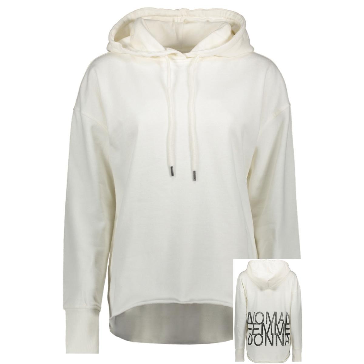 vmwoman cida ls  hood sweat vma 10212980 vero moda sweater pristine/black woman