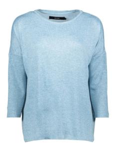 Vero Moda Trui VMBRIANNA 3/4 OVERSIZE BLOUSE BOO 10208551 Cool Blue/W.SmokeB