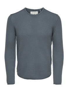 Only & Sons Trui onsTROUGH KNIT SL 3108 22013108 Smoke Blue