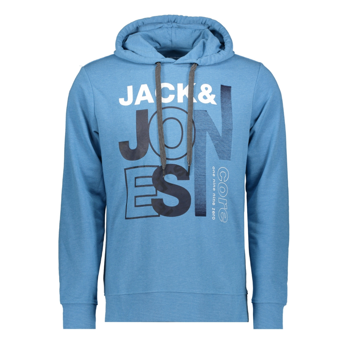 jcotilly sweat hood 12148661 jack & jones sweater azure blue