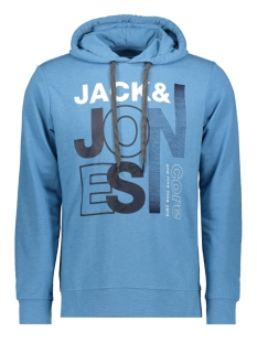 Jack & Jones sweater JCOTILLY SWEAT HOOD 12148661 Azure BLue