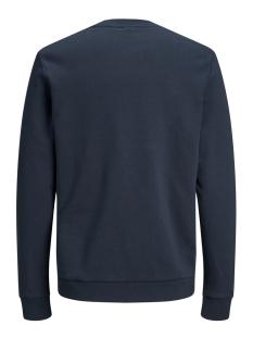 jorgot sweat crew neck 12162537 jack & jones sweater navy blazer/reg