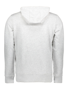 jcoaxel sweat hood 12152101 jack & jones sweater white melange