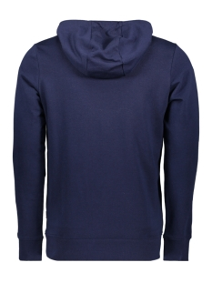 jcoaxel sweat hood 12152101 jack & jones sweater maritime blue