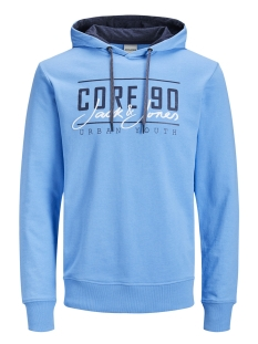 Jack & Jones sweater JCOAXEL SWEAT HOOD 12152101 Azure Blue