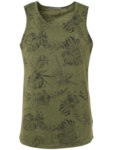 NO-EXCESS T-shirt SINGLET 91340410 055 OLIVE