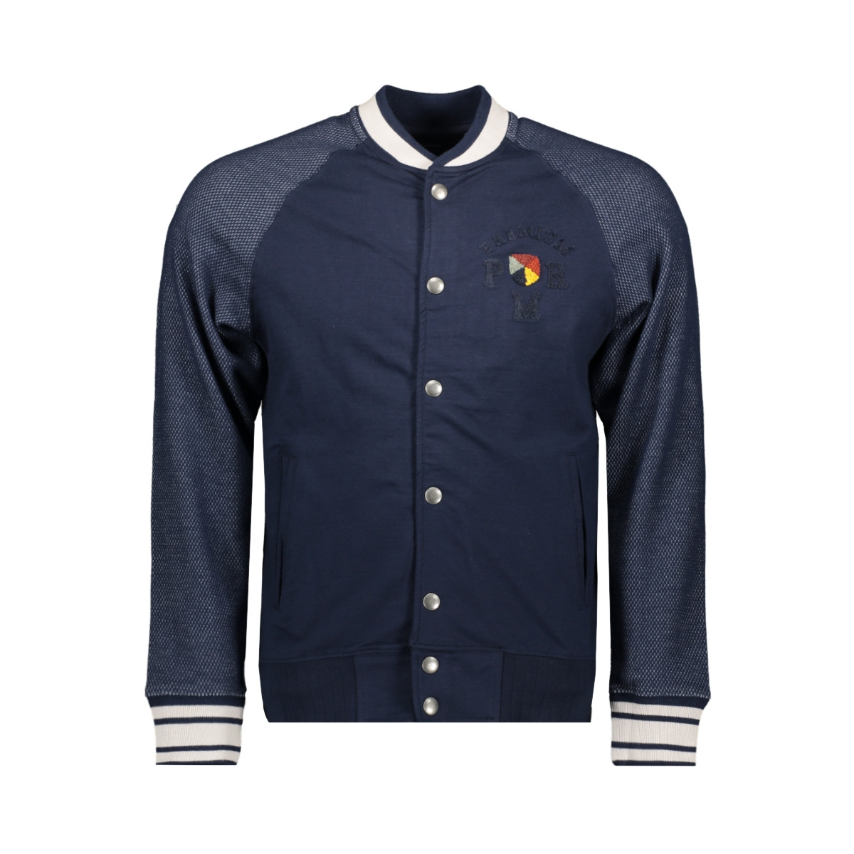 jprcarter blu. sweat bomber 12154536 jack & jones vest navy blazer/slim fit
