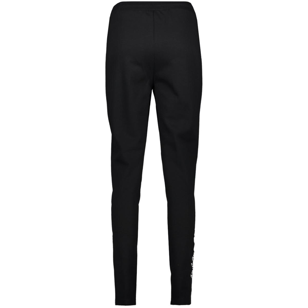 onpjoyce hw tight sweat pants 15175669 only play sport broek black/w. white