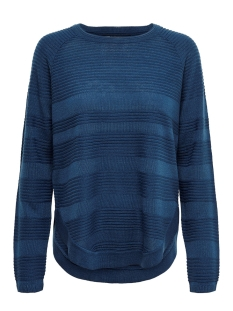 Only Trui onlCAVIAR L/S PULLOVER KNT NOOS 15141866 Gibraltar Sea