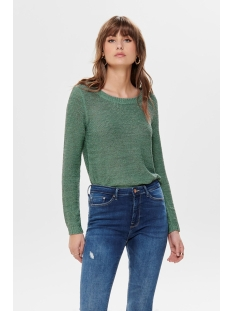onlgeena xo l/s pullover knt noos 15113356 only trui chinois green
