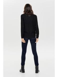 onlgeena l/s v-neck pullover knt 15175267 only trui black