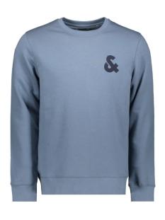Jack & Jones sweater JJECHEST LOGO SWEAT CREW NECK NOOS 12155398 China Blue/REG