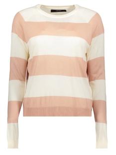 vmlina ls o-neck blouse boo 10215182 vero moda trui pristine/misty rose