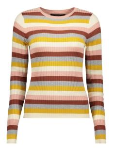 vmstar ls o-neck blouse 10215352 vero moda trui mahogany