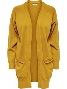 jdyday l/s noos cardigan knt 15154643 jacqueline de yong vest harvest gold