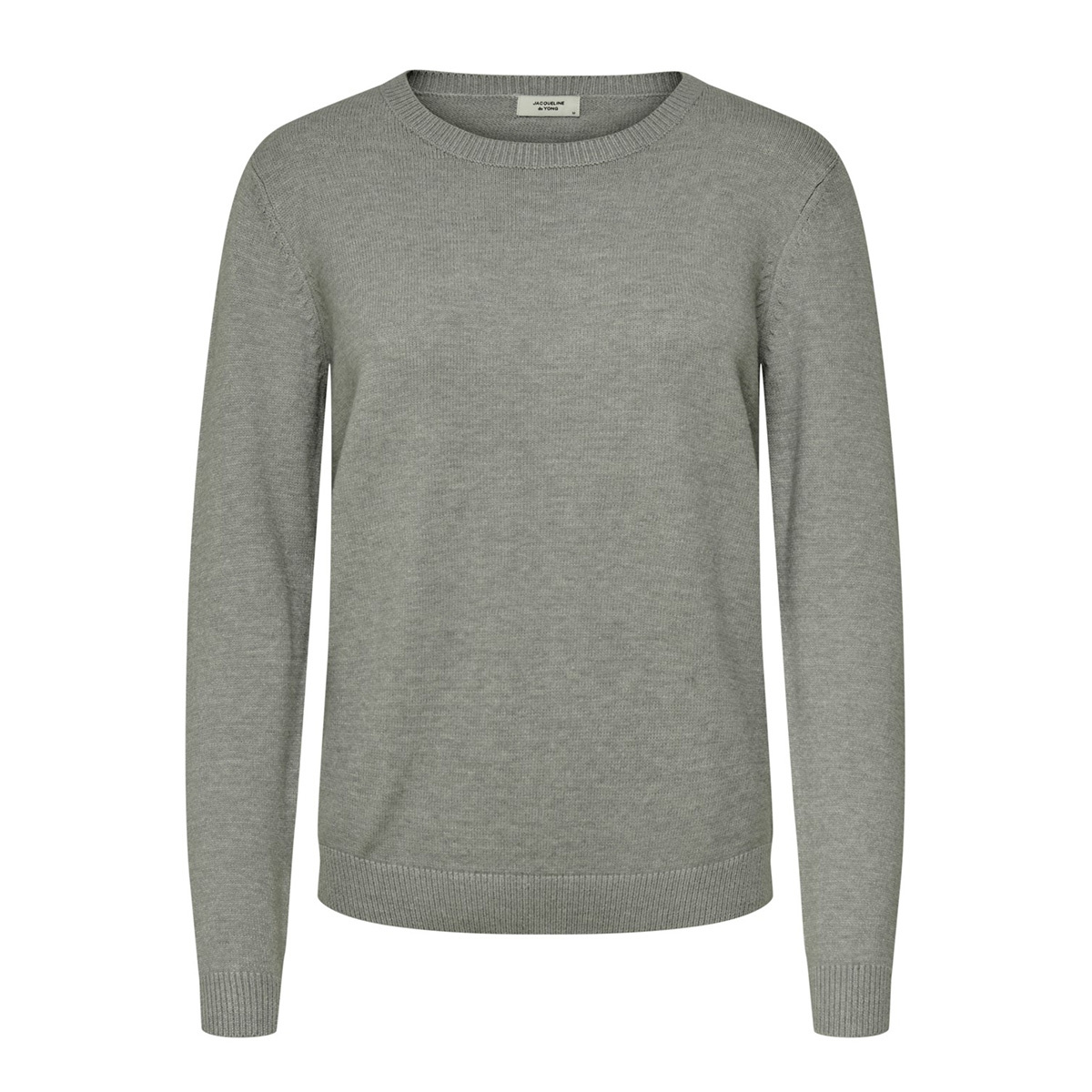 jdymarco l/s pullover knt noos 15185762 jacqueline de yong trui scarab/melange
