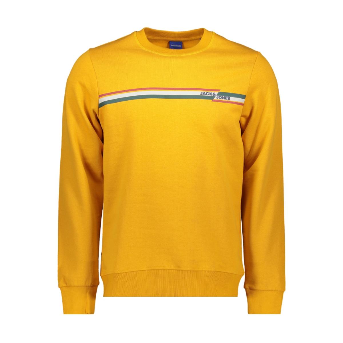 jorrudd sweat crew neck 12158106 jack & jones sweater sunflower/slim
