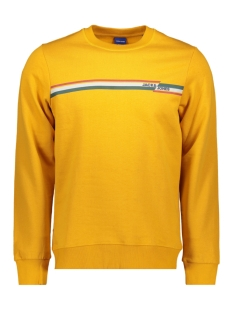 Jack & Jones sweater JORRUDD SWEAT CREW NECK 12158106 Sunflower/SLIM